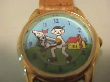 Pinocchio Puppet Character Wrist Watch Rare