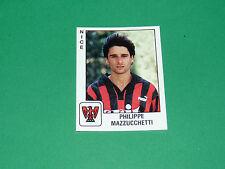PANINI FOOTBALL FOOT 90 N°246 MAZZUCCHETTI OGC NICE OGCN NISSA RAY 1989-1990