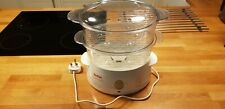 Tefal steamer aquatimer electric food steamer - used but very good condition