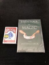 Invisible Deck magic trick plus instructional DVD included