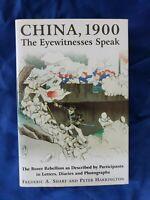 China, 1900 Eyewitnesses Speak Frederic Sharf Peter Harrington HCDJ Boxer Rebell