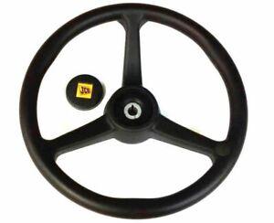 Genuine Jcb Steering Wheel (Part No. 125/34900 125/35000)