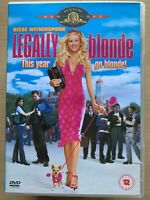 Legally Biondo DVD 2001 Romantic Commedia Romcom Film Con Reese Witherspoon