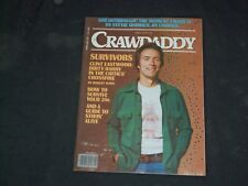1978 APRIL CRAWDADDY MAGAZINE - CLINT EASTWOOD COVER - CW 1022