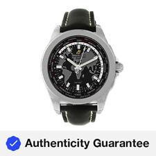 Breitling Galactic unitime WB3510U4/BD94 вольфрам из нержавеющей стали, автоматические часы 44 мм