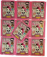 PANINI LOL L.O.L surprise 10 pochettes 2 Hybride Sticker Album