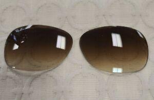 Authentic Ray Ban RB2132 New Wayfarer 58 mm Brown Replacement Lenses 710/51 OEM