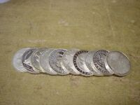 Anlegerposten , 10 x 10 DM 1998/2001 925er , 155g 925/Silber , Investorenpaket