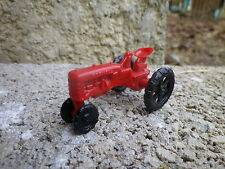 NOREV JOUEF ? ancien tracteur plastique très bon état sans volant.