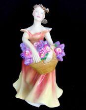 Royal Doulton Figurine Lesley Hn2410 Copr. 1985 England Signed Albert Colclough