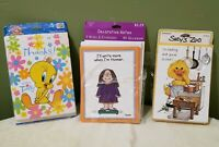 Vintage 80s Suzy's Zoo-Cathy-Looney Tunes- Tweetie Bird-Unused Greeting Cards