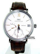 IWC Portofino hand Wound Eight Days Stainless Silver  IW5101-03