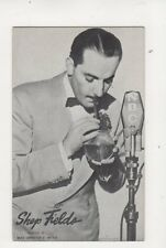 Shep Fields Orchestra Band Leader Vintage Postcard Music 332b