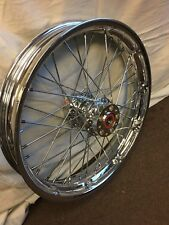 "21"" Performance Machine Spoke Wire CHROME CUT Wheel 14-up HARLEY TOURING FLHX"