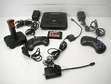 Sega Genesis 2 Console Video Game System Bundle Game controller power supply lot