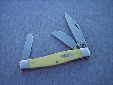 CASE XX * 2000 YELLOW SYNTHETIC CV 75 PATTERN STOCKMAN KNIFE KNIVES