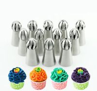 Sphere Ball Tip Nozzles Icing Piping Russian Nozzle Cake Baking Tools AU