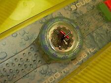 Swatch Scuba JELLY BUBBLES - SDK104 in NEU & OVP + neuer Batterie