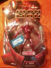 "IRON MAN movie series|REPULSOR RED Prototype|target exclusive|Marvel Legends 6"""