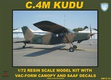 1:72 ScaleWorx #SW72-12  -  C.4M Kudu  Resin kit with vac-form canopy and decals