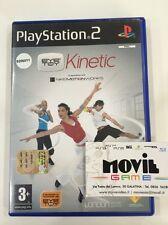 EYE TOY KINETIC videogioco per PS2 Playstation 2 italiano TELECAMERA NECESSARIA