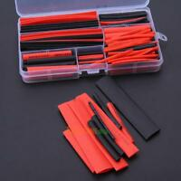 150pc Assorted Ratio 2:1 Heat Shrink Tubing Tube Insulation Sleeve Wrap Wire Kit