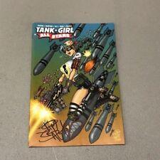 TANK GIRL ALL-STARS 1 JETPACK COMICS JIM BALENT SIGNED EXCLUSIVE VARIANT Titan