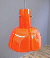 Limburg Hängelampe Lampe Leuchte Glas orange Design vintage 60er 60s 70er 70s