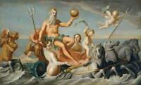 John Singleton Copley The Return of Neptune Poster Giclee Canvas Print