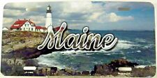 Novelty license plate State Maine New aluminum auto tag Made in U.S.A. LP-11604