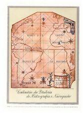 s18964) BRASILE BRAZIL 1976 MNH** Nuovo** Hydrography s/s
