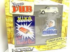 Norev 1/43 - Coffret Pub Peugeot 203 Fourgon Miko + Magnet et Figurine