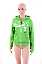 Abercrombie & Fitch Muscle Fit GREEN Hoodie Sweatshirt L Boys ladies M SUPER