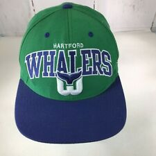 Hartford Whalers Mitchell & Ness NHL Vintage SnapBack Hat Trucker cap