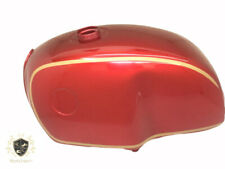 BMW R100 Rt Rs R90 R80 R75 Red & Gold Painted Steel Petrol Tank(Fit  For)