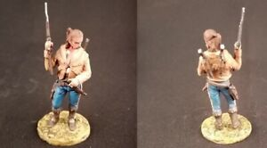 Tin toy soldiers  painted 54 mm cowboy