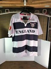 England Rugby Shirt Size L  #10