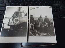 SS KINGSWAY  LATER HMT KINGSWAY . GRIMSBY TRAWLER PAIR  OF POSTCARDS    SUPERB