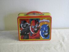 Collectible Power Rangers Metal Lunch Box