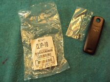 NOS OEM VERTEX AAF60X101 Two Way Portable Radio Belt Clip-18 SHIPS FREE !!!!!