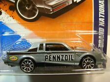 2011 Hot Wheels #139 - Buick Grand National - HW Performance - Pennzoil - Silver