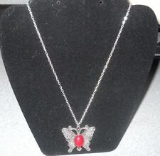 Butterfly Necklace New Still In Original Packaging 20 Inches Long