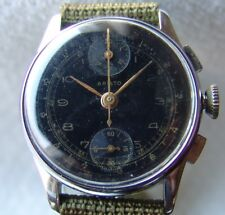 MEN'S WWII PERIOD chronograph ARISTO Ed. Kummer good condition WRISTWATCH