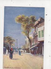 Pompeys Pillar Alexandria Egypt [Tuck 7203] Vintage Postcard 804a