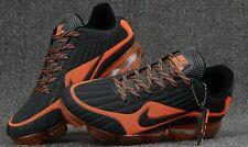 Nike AirMax VaporMax Men running shoes size US10 Gray Orange