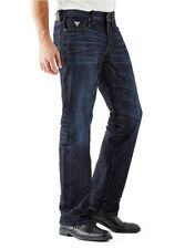 Guess Men's Regular Boot Cut Jeans In Riverfront Wash Size 30X30