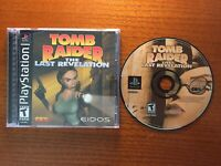 Tomb Raider: The Last Revelation PlayStation 1 1999 Complete *Free Shipping*