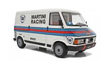 Fiat 242 MKII van bus service Lancia Martini 037 Rallye talla B laudoracing 1:18