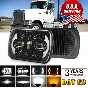 5x7 7x6 Hi-Lo Beam LED Headlight For International Harvester 4700 4900 9900 7300