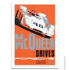 Nicolas Hunziker Porsche 908 Steve McQueen Sebring 1970 Poster